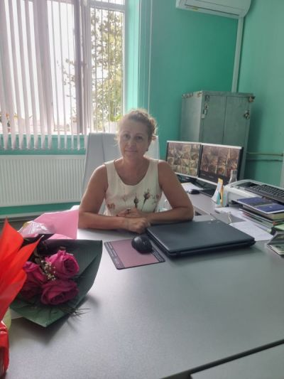 """Приветствие на Директора на ПГСС """"Сергей Румянцев"""" г-жа Антоанета Нечева 1"""