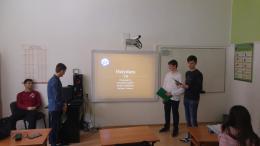 Бинарен урок по Английски език и Информационни технологии - ПГСС Сергей Румянцев - Луковит